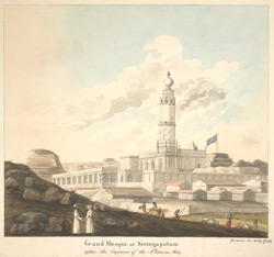 Mosque at Seringapatam (Mysore). July 1799